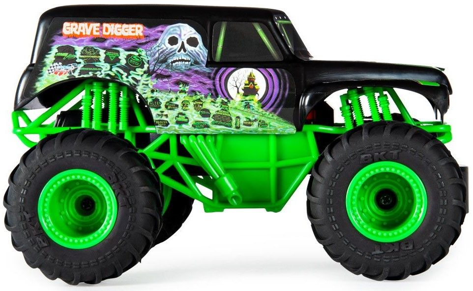 Радиоуправляема количка Spin Master Monster Jam - Джип Grave Digger, 1:24 - 3