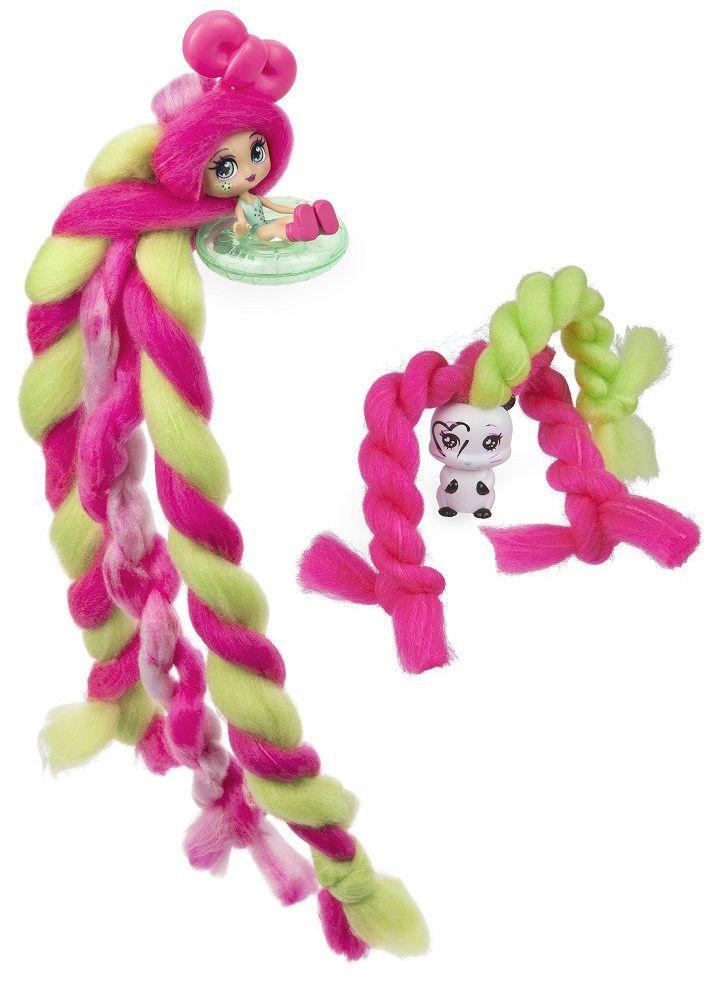 Мини кукла с ароматна коса Candylocks - С домашен любимец, асортимент - 6