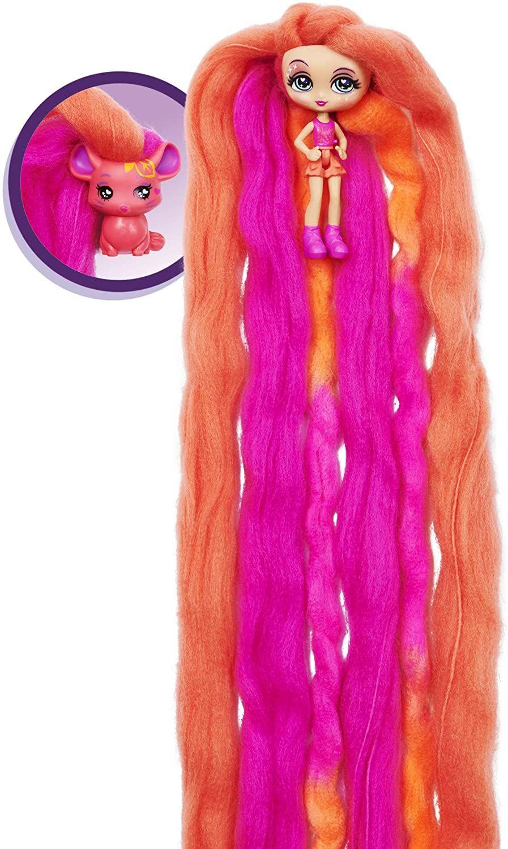 Мини кукла с ароматна коса Candylocks - С домашен любимец, асортимент - 3