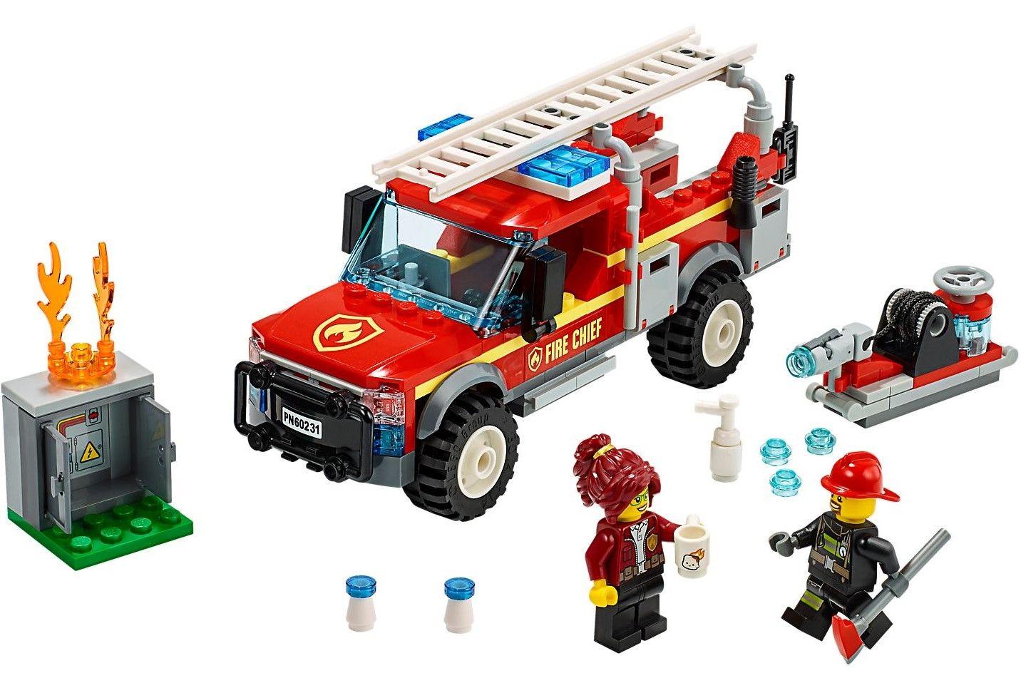 Конструктор Lego City - Fire Chief Response Truck (60231) - 4