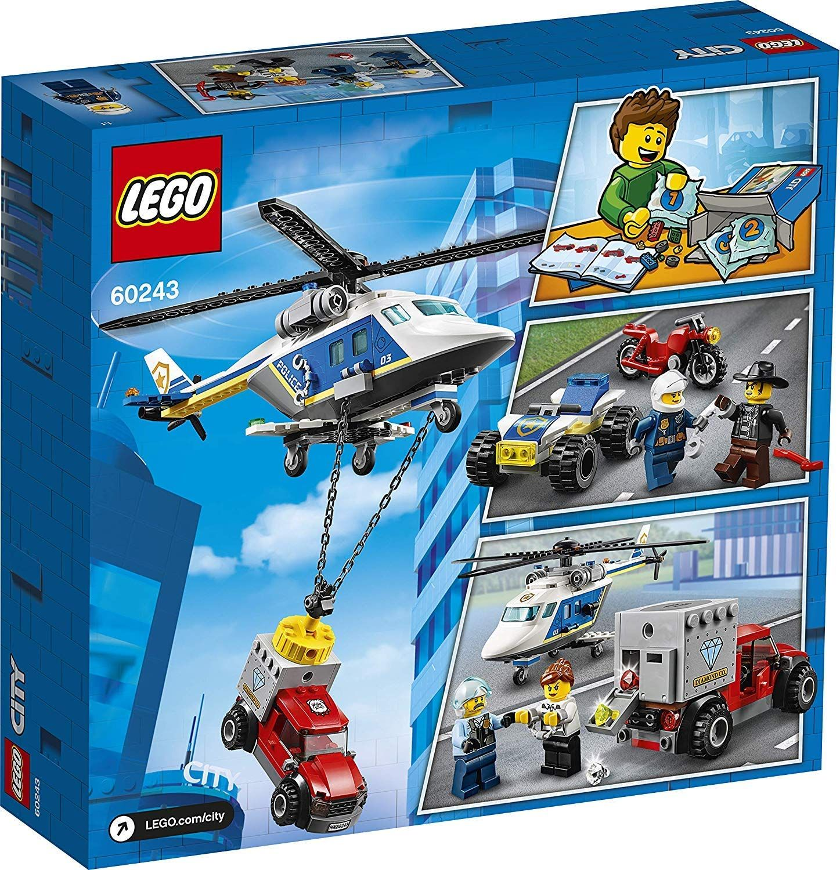 Конструктор Lego City Police - Полицейско преследване с хеликоптер (60243) - 2