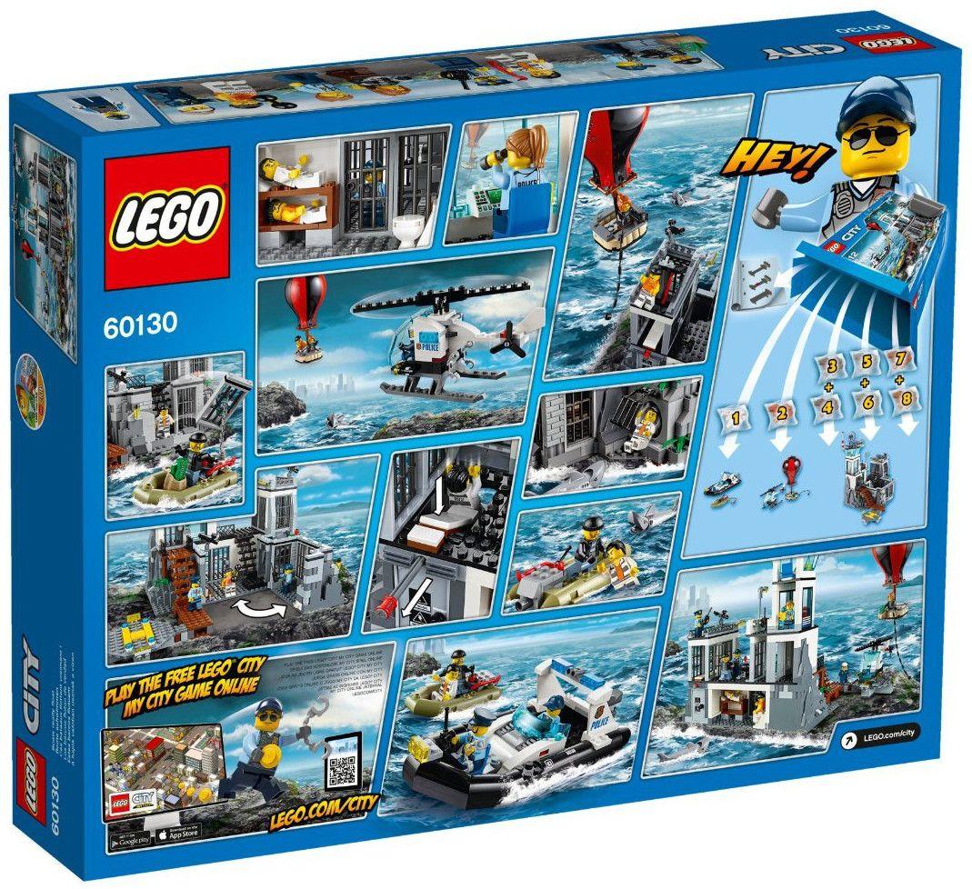 Конструктор Lego City - Затворнически остров (60130) - 3
