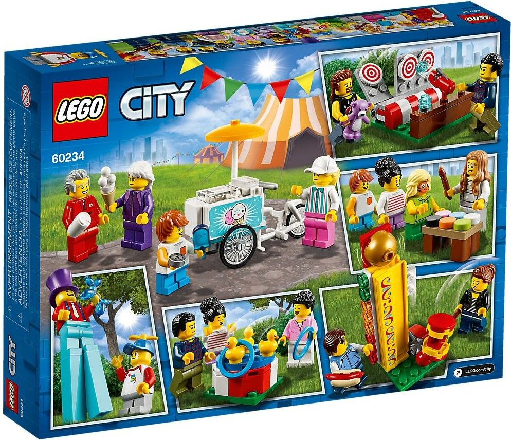 Конструктор Lego City - People Pack: Fun Fair (60234) - 3