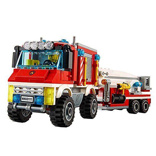 Конструктор Lego City - Пожарникарски камион (60111) - 6