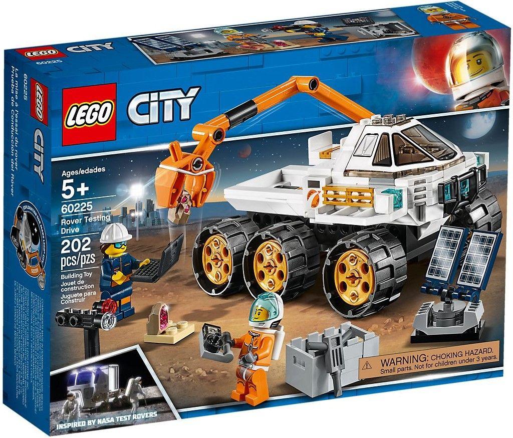 Конструктор Lego City - Rover Testing Drive (60225) - 1