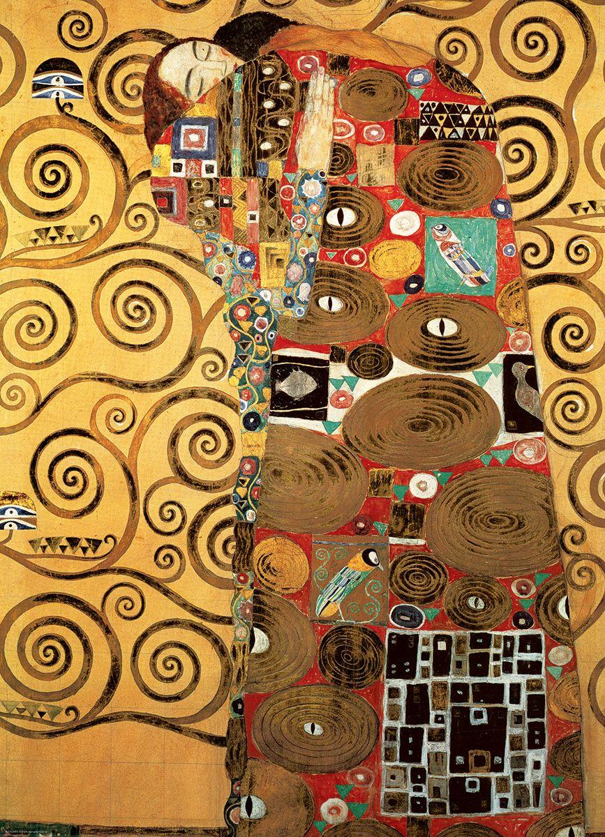 Пъзел Eurographics от 1000 части –  Изпълването, Густав Климт - 2