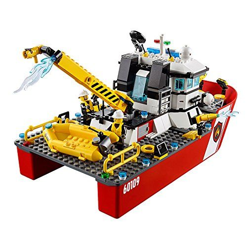 Конструктор Lego City - Пожарникарска лодка (60109) - 6