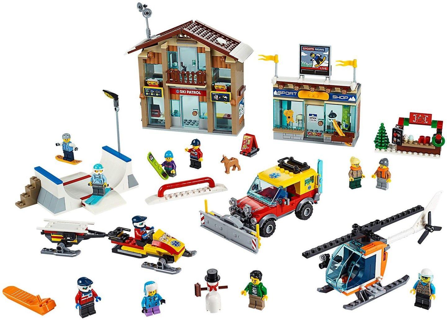 Конструктор Lego City - Ski Resort - 2