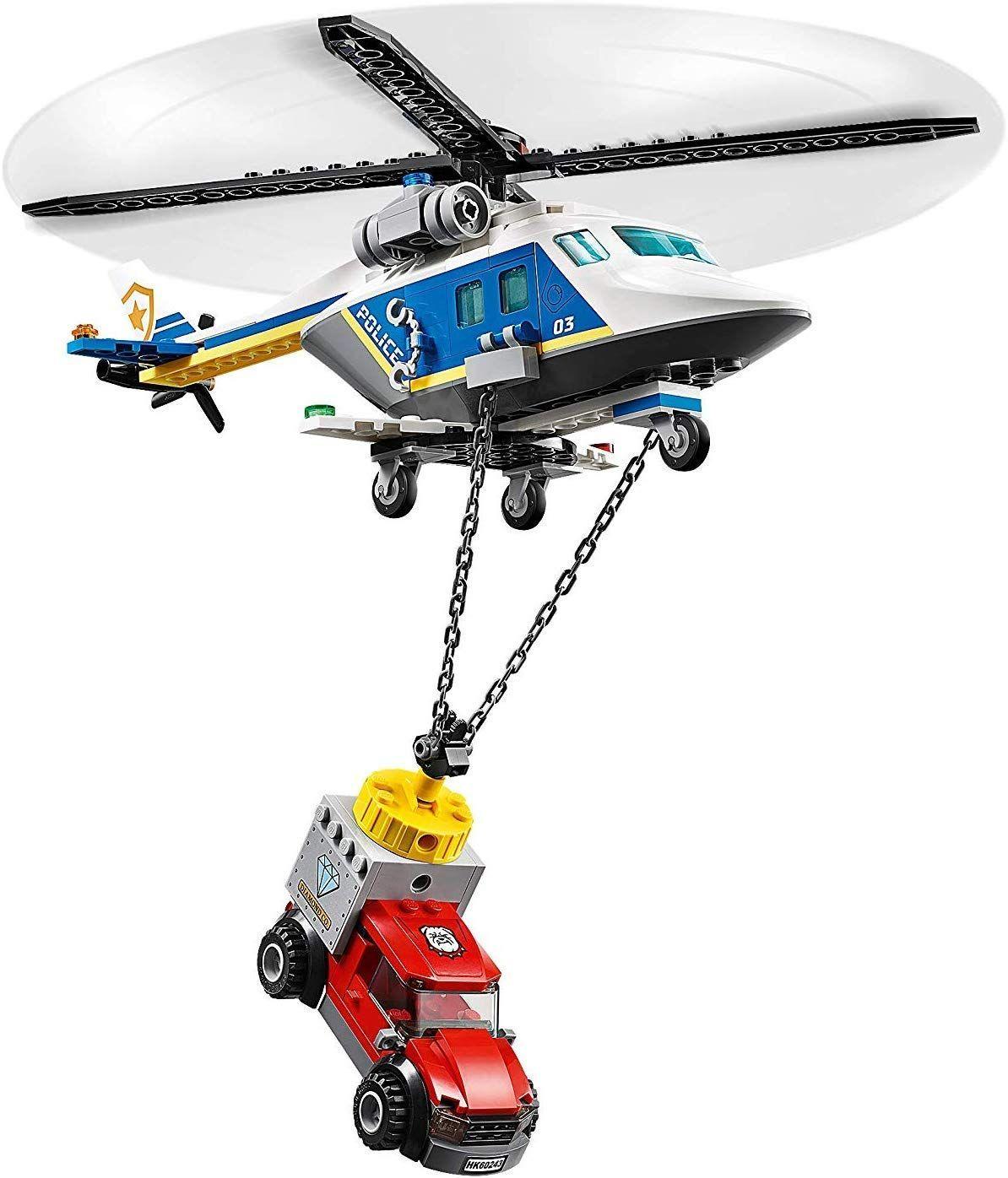 Конструктор Lego City Police - Полицейско преследване с хеликоптер (60243) - 7