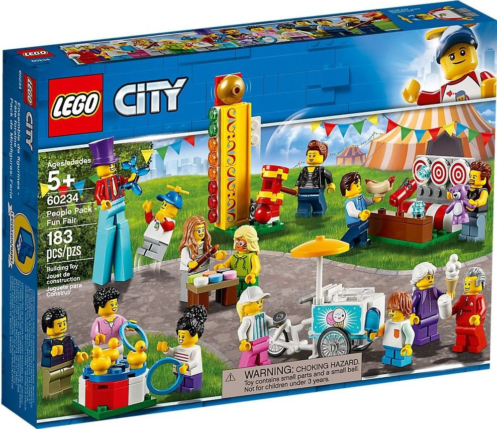 Конструктор Lego City - People Pack: Fun Fair (60234) - 1