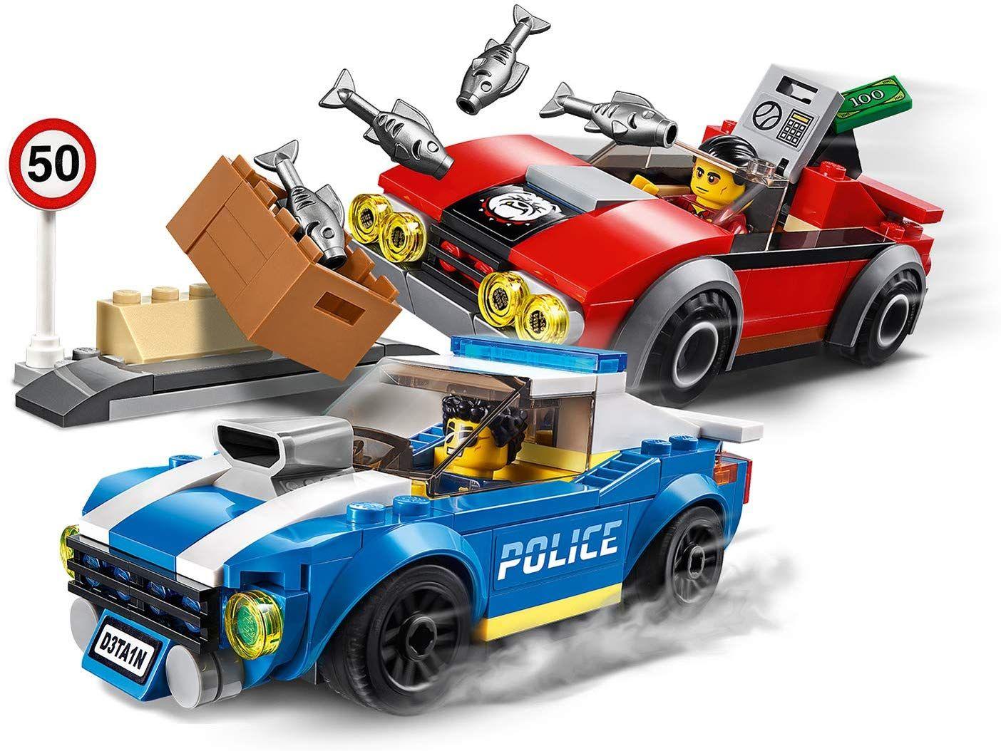 Конструктор Lego City Police - Полицейски арест на магистралата (60242) - 5