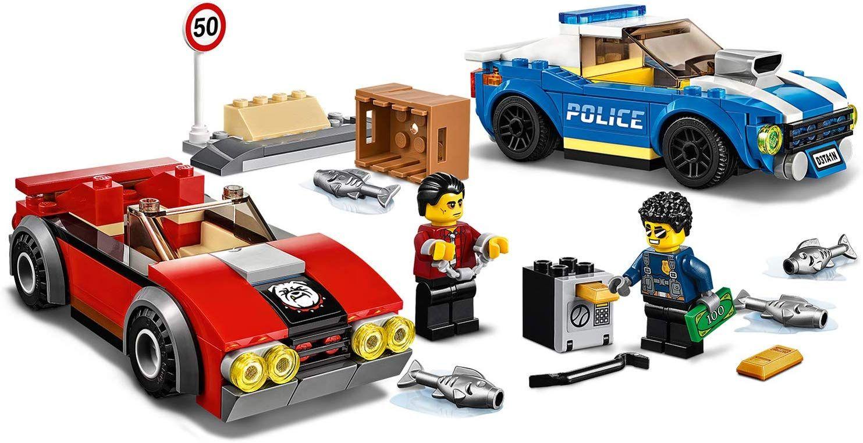 Конструктор Lego City Police - Полицейски арест на магистралата (60242) - 4