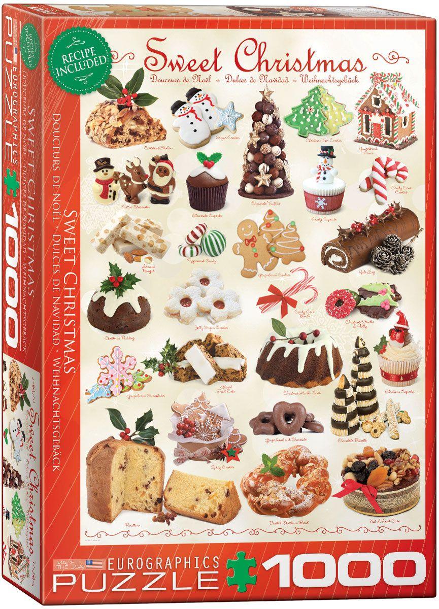 Пъзел Eurographics от 1000 части –  Лакомства за Коледа - 1