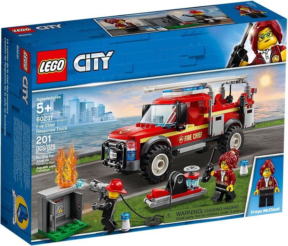 Конструктор Lego City - Fire Chief Response Truck (60231) - 1