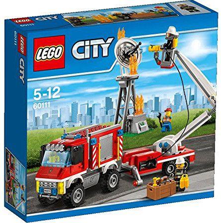 Конструктор Lego City - Пожарникарски камион (60111) - 1