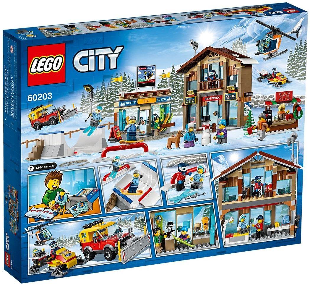 Конструктор Lego City - Ski Resort - 3