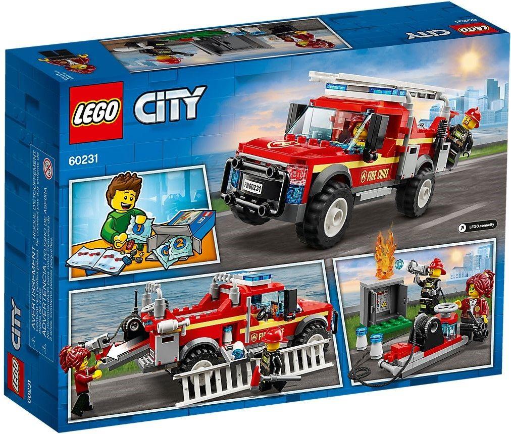 Конструктор Lego City - Fire Chief Response Truck (60231) - 5