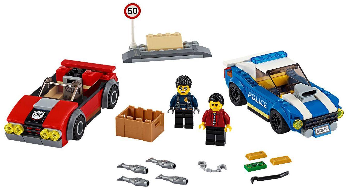 Конструктор Lego City Police - Полицейски арест на магистралата (60242) - 3