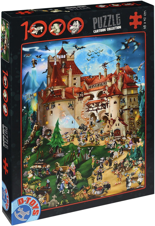 Пъзел D-Toys от 1000 части – Дракула - 1
