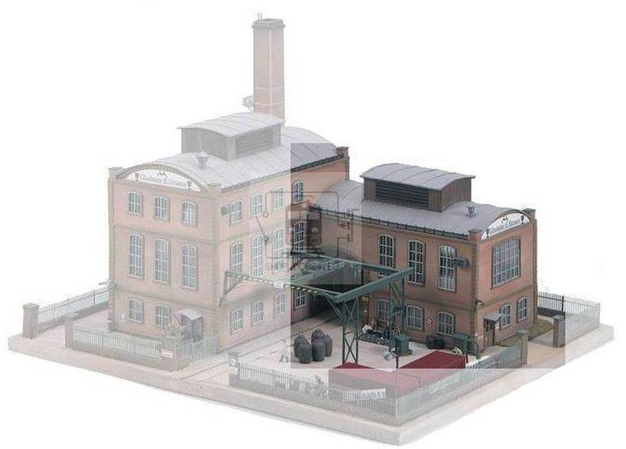Сглобяем модел Piko - Допълнителна сграда към фабрика за производство E. Strauss (61117) - 1