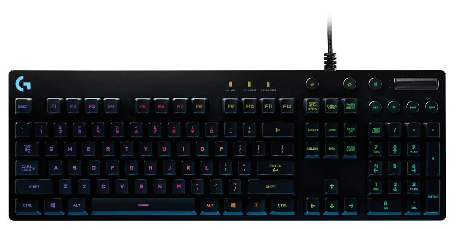 Logitech G810 Orion Spectrum RGB Mechanical Gaming Keyboard - 1