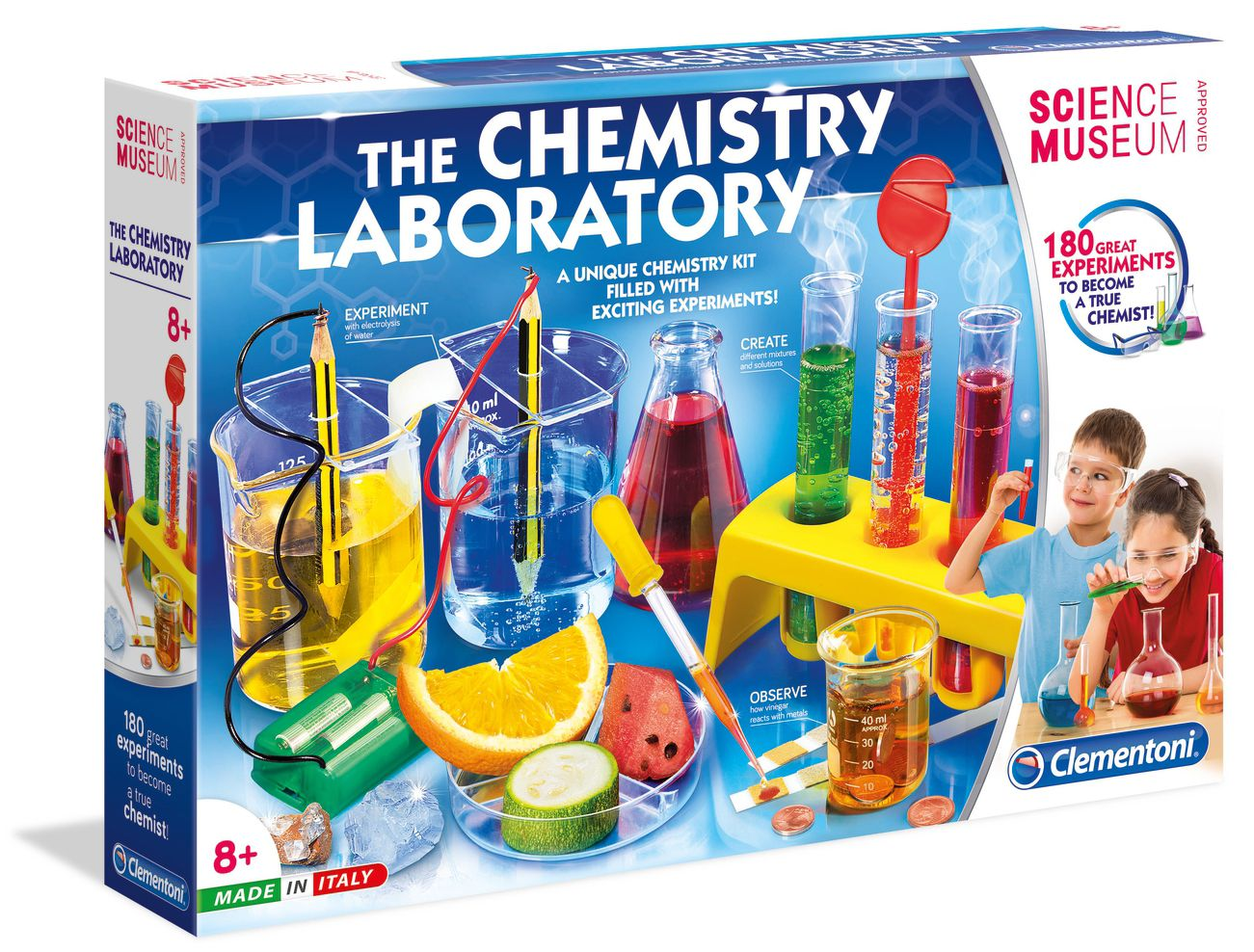 Научен комплект Clementoni Science Museum - Химична лаборатория - 1