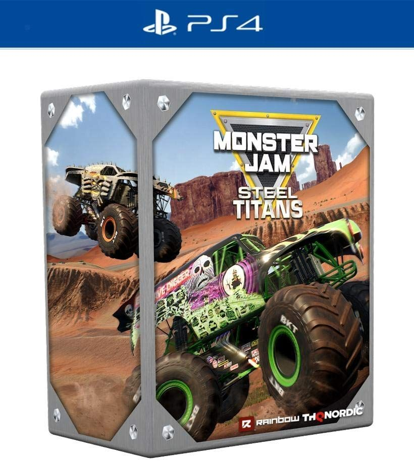 Monster Jam Steel Titans - Collector's Edition (PS4) - 1