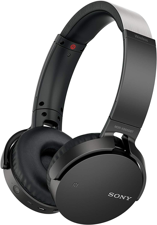 Слушалки Sony MDR-XB650BT - черни - 1