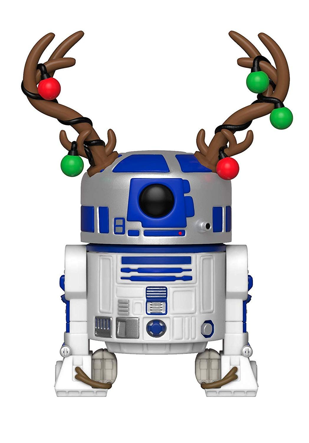 Фигура Funko Pop! Star Wars: Holiday R2-D2 with Antlers (Bobble-Head), #275 - 1