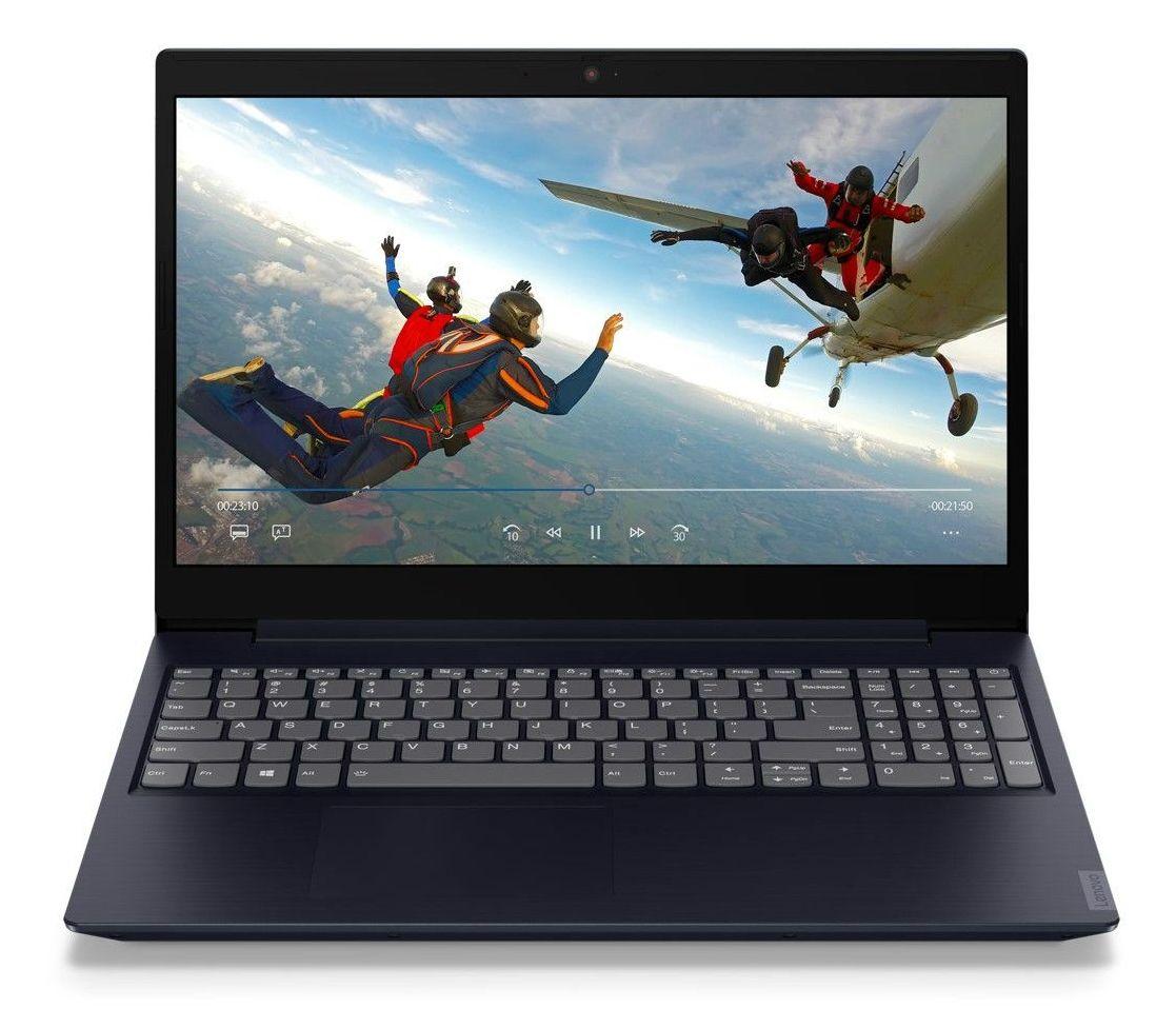 Лаптоп Lenovo ideapad L340 -  81LG00FUBM, син - 2