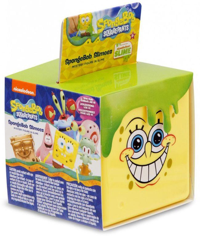 Фигурка-изненада Nickelodeon - Спондж Боб в желе, асортимент - 1
