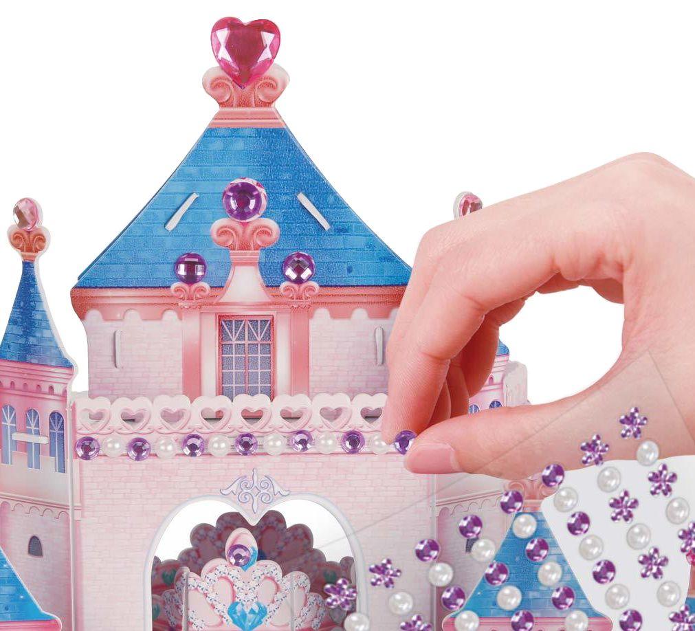 3D Пъзел Cubic Fun от 92 части - Тайната градина на принцесата, с 493 камъчета - 4
