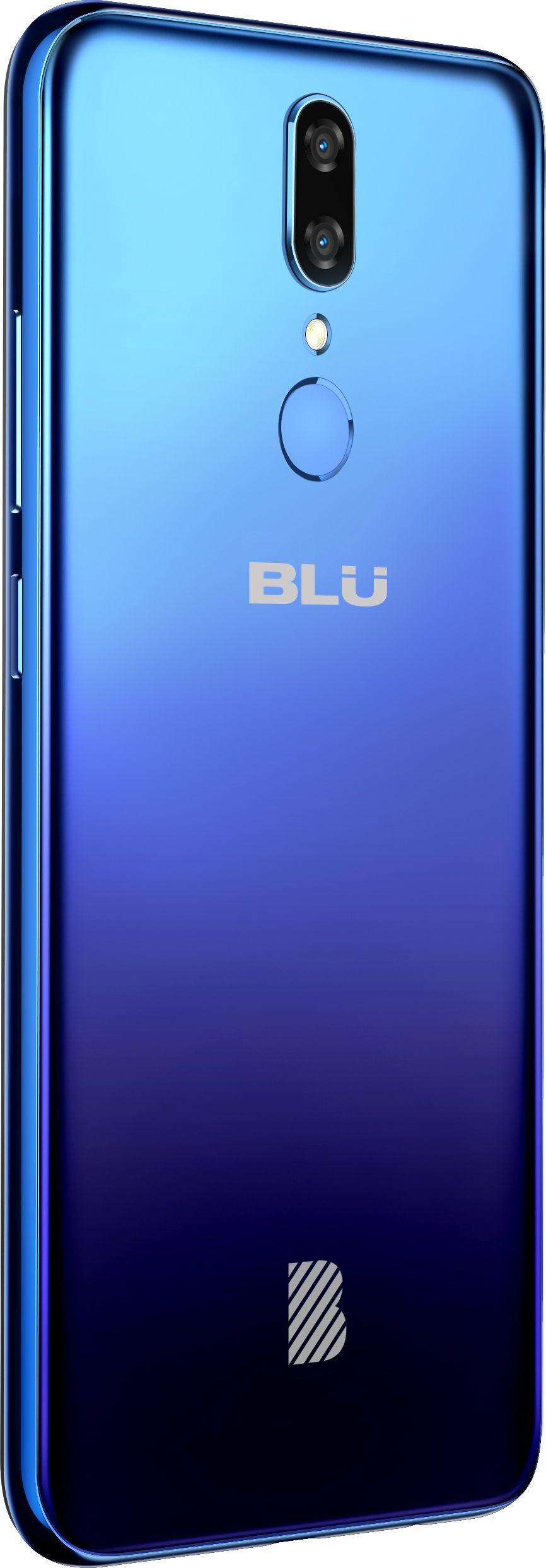 """Смартфон BLU G9 - 6.3"""", 64GB, син - 4"""