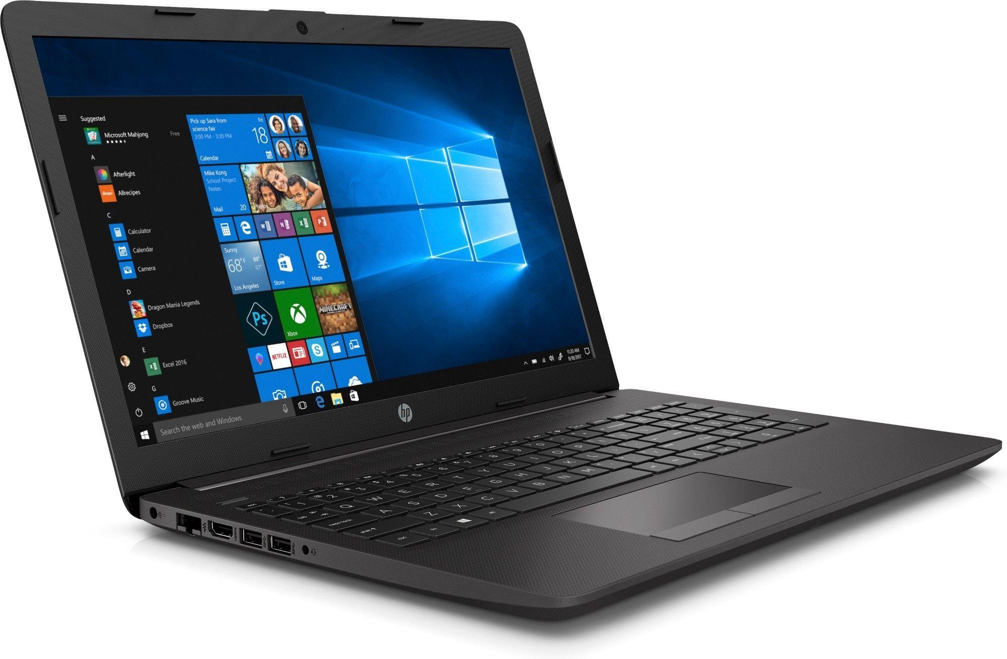 Лаптоп HP 250 G7 - черен - 3