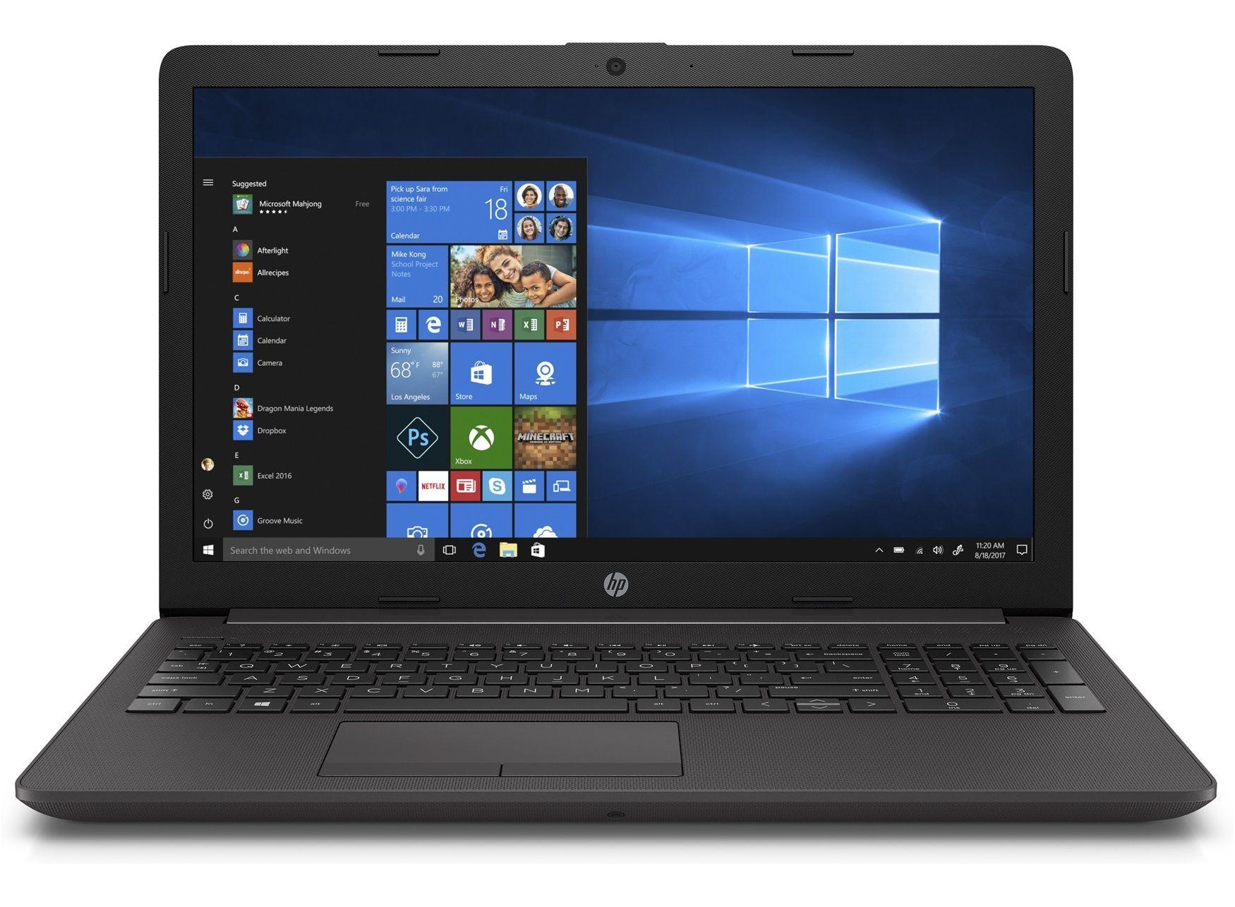 Лаптоп HP 250 G7 - черен - 1