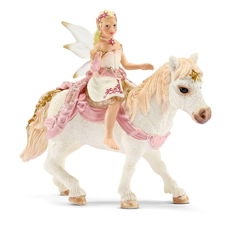 Фигурка Schleich от серията Баяла Илорис: Лилиева елфа на пони - 1