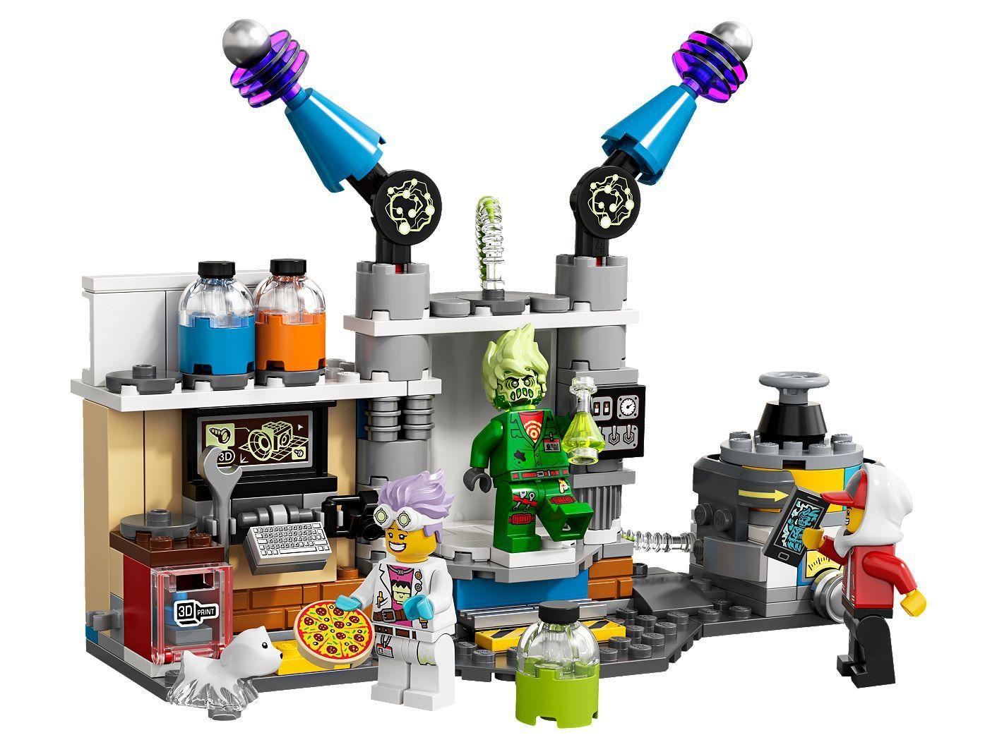 Конструктор Lego Hidden Side - Лабораторията за духове на J.B. (70418) - 3