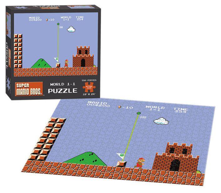 Колекционерски пъзел USAopoly от серията Super Mario World 1 – 550 части - 2