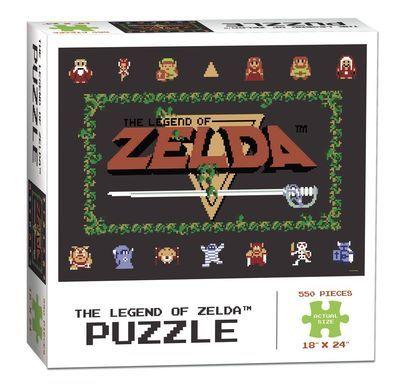 Колекционерски пъзел USAopoly, The Legend of Zelda Classic - 550 части - 1