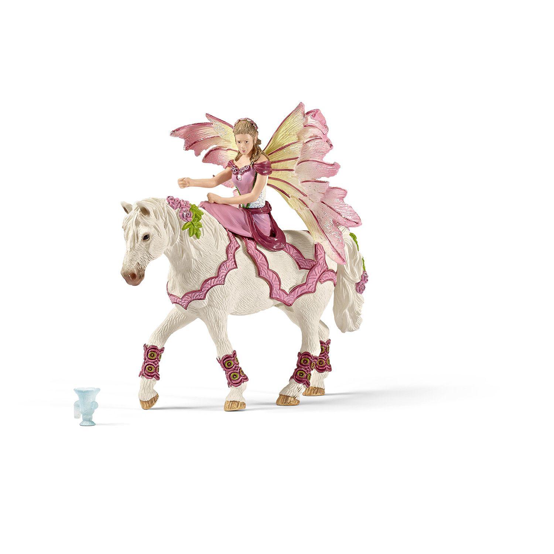 Фигурка Schleich от серията Баяла Илорис: Фейа празнична на кон - 1