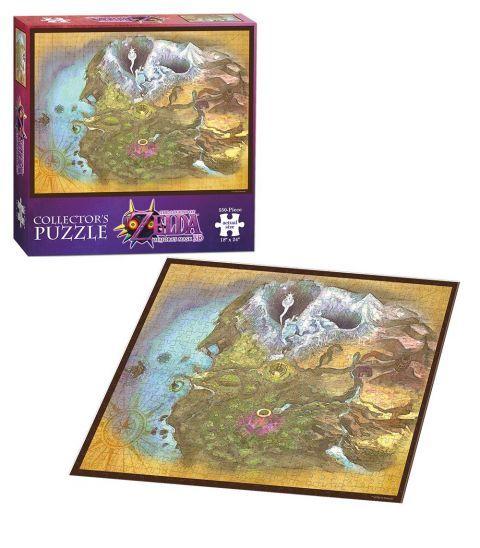 Колекционерски пъзел USAopoly, The Legend of Zelda: Majora's mask – Карта на Термина, 550 части - 2