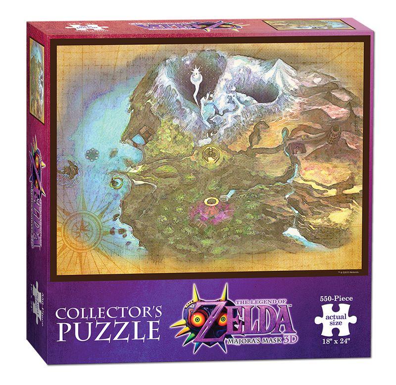 Колекционерски пъзел USAopoly, The Legend of Zelda: Majora's mask – Карта на Термина, 550 части - 1