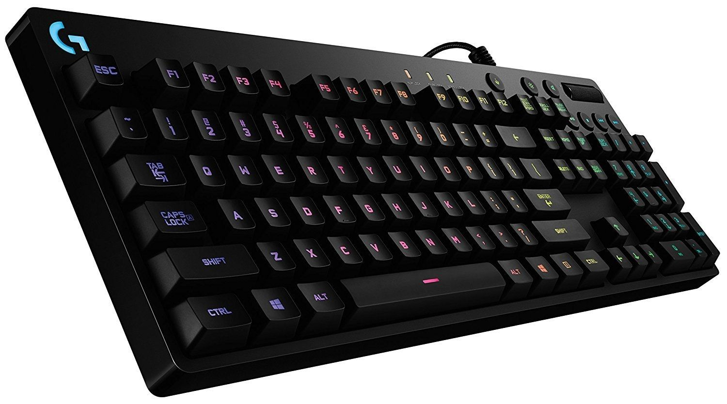 Logitech G810 Orion Spectrum RGB Mechanical Gaming Keyboard - 3