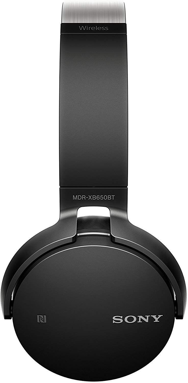 Слушалки Sony MDR-XB650BT - черни - 3