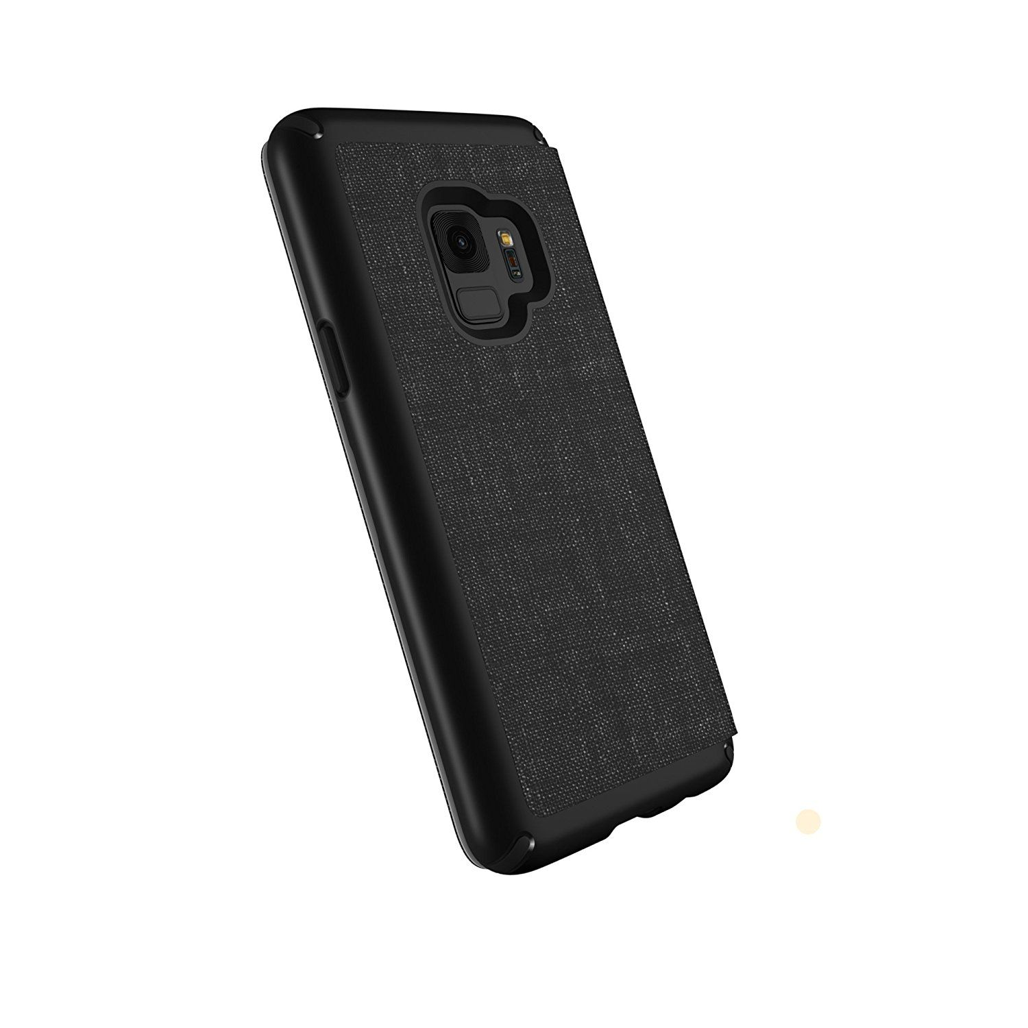 Калъф Speck GALAXY S9 Presidio Folio - Heathered Black/Black/Slate Gray - 1