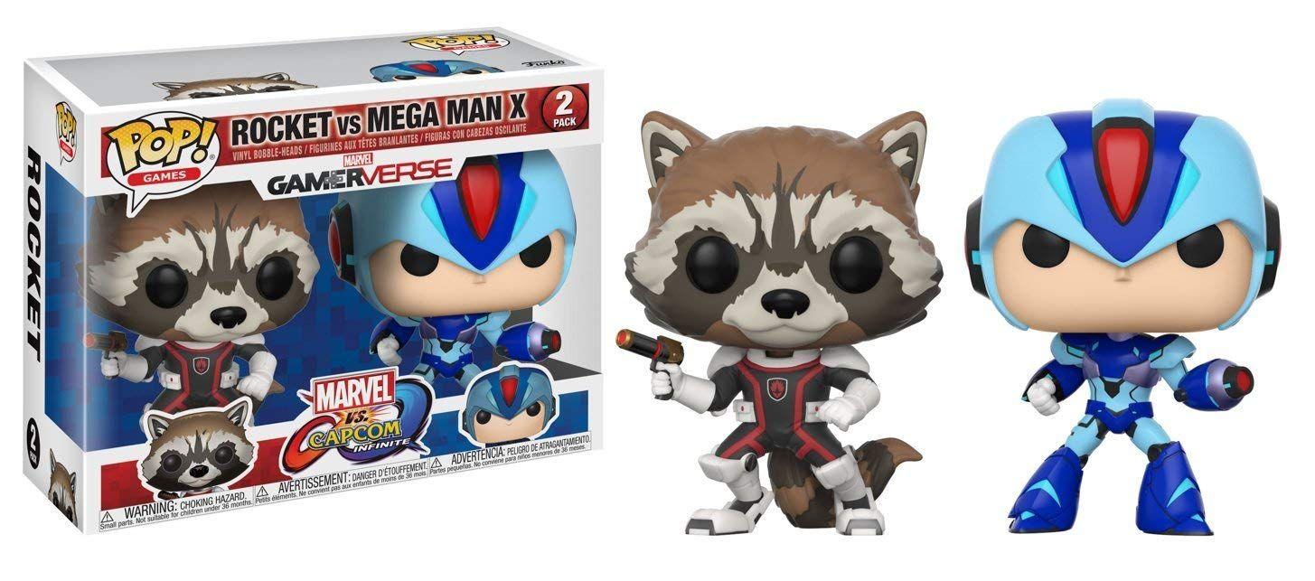 Фигури Funko Pop! Games: Rocket VS Mega Man X, 2 pack - 2