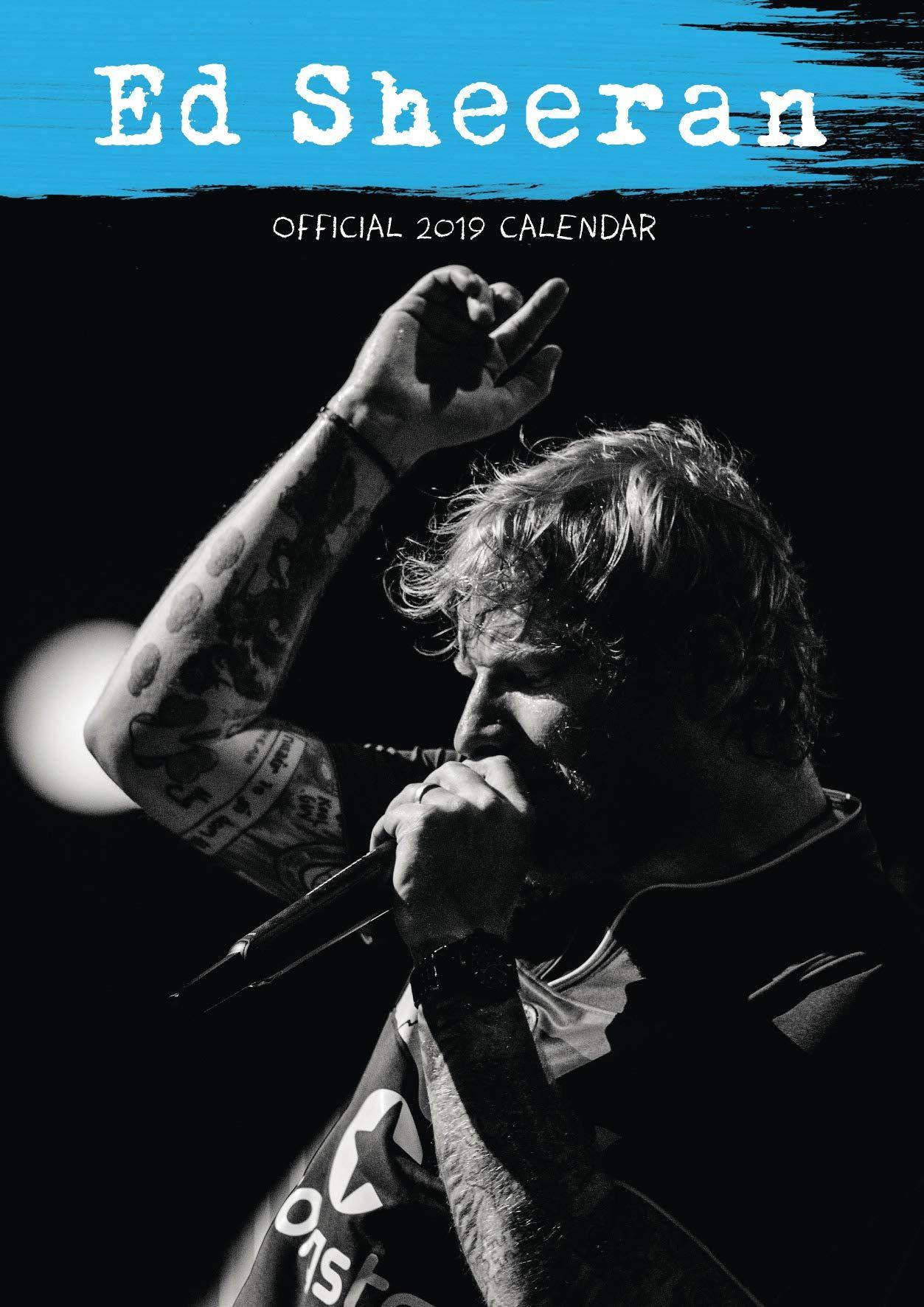 Стенен Календар Danilo 2019 - Ed sheeran - 1