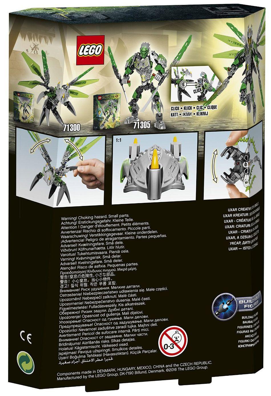 Lego Bionicle: Уксар създание от джунглата (71300) - 3