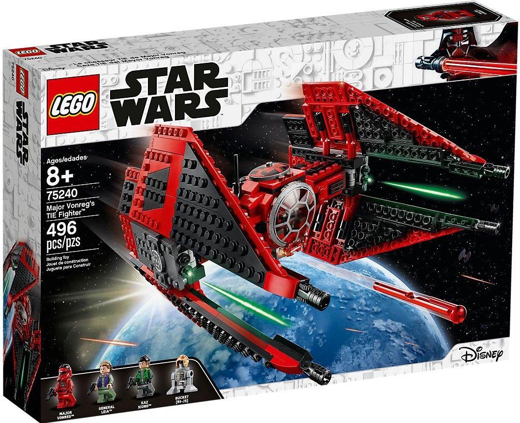 Конструктор Lego Star Wars - Major Vonreg's TIE Fighter (75240) - 1