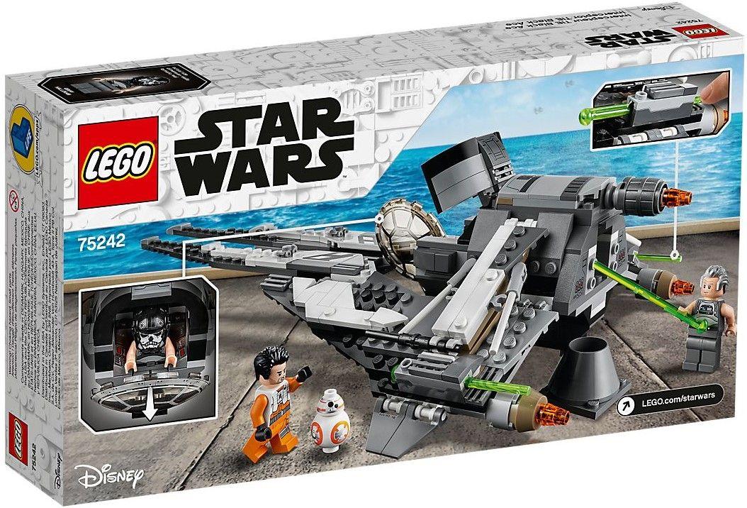 Конструктор Lego Star Wars - Black Ace TIE Interceptor (75242) - 5